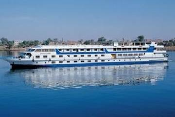 African Queen Nile Cruise From Outside