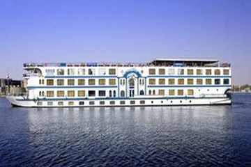 Beau Rivage II Nile Cruise From Outside