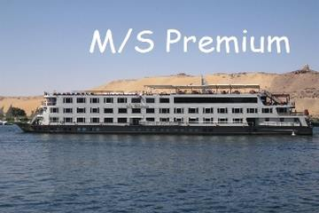 Premium Nile Cruise From Outside