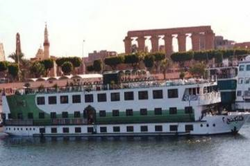 Viking II Nile Cruise From Outside